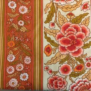 Stunning 60s Floral Preshrunk Fabric